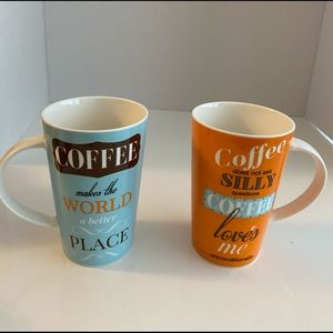 Maxwell Williams Coffee Cup set of 2